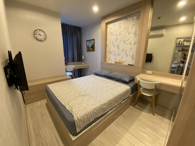 For RentCondoBangna, Lasalle, Bearing : Room for rent Ideo Mobi Sukhumvit Eastgate(BangnaBTSStation)