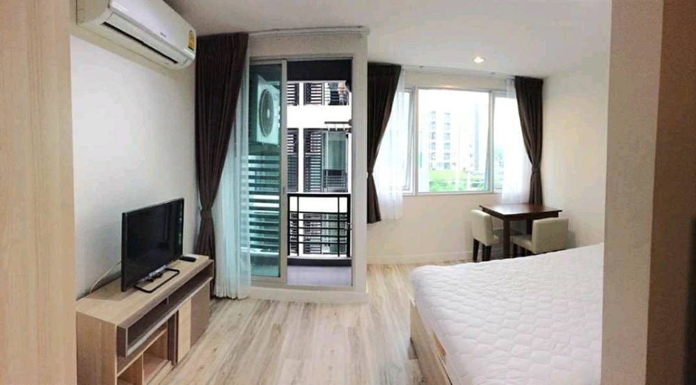 For SaleCondoBangbuathong, Sainoi : Special price !! Condo for sale: S9 studio, 25 sq m, 4th floor, fully furnished, ready to move in. Near the car