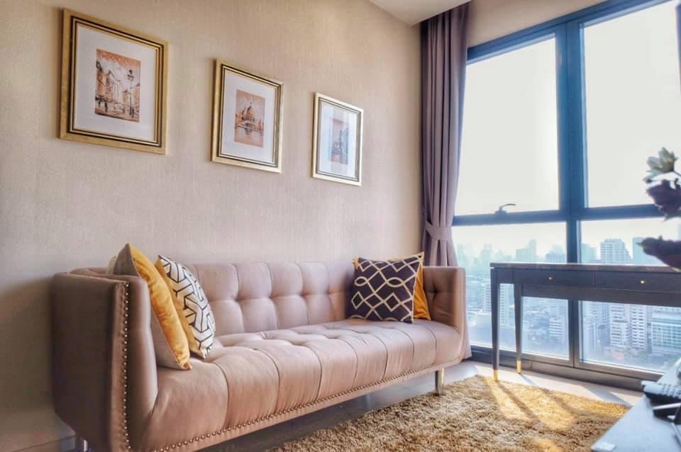 เช่าคอนโดสุขุมวิท อโศก ทองหล่อ : A1437 ให้เช่า Ashton Asoke ชั้นสูง ห้องสวย | 1 นอน 25,000THB | 20m MRT Sukhumvit