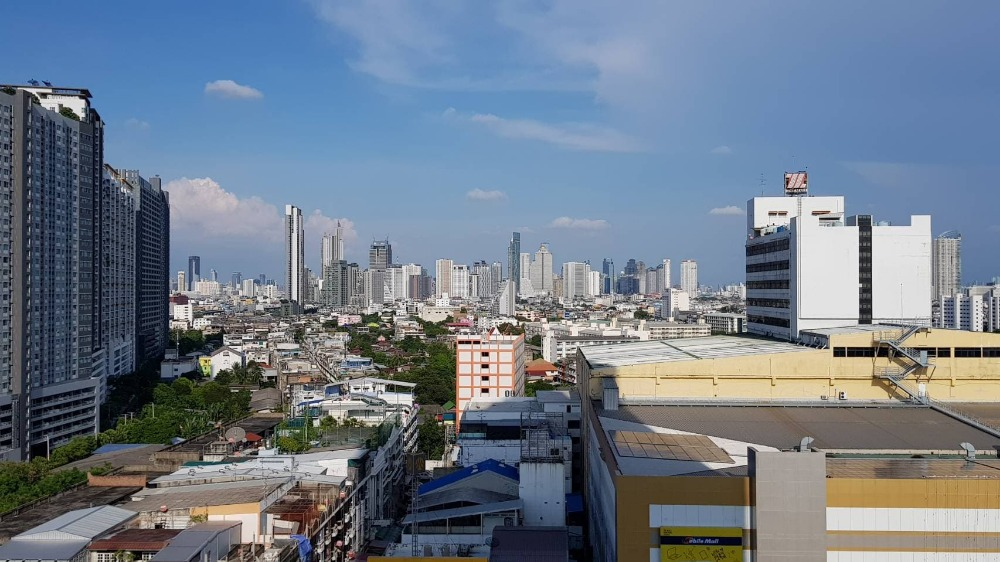 For SaleCondoThaphra, Wutthakat : Condo for sale Whizdom Tha Phra 1 bedroom rare location
