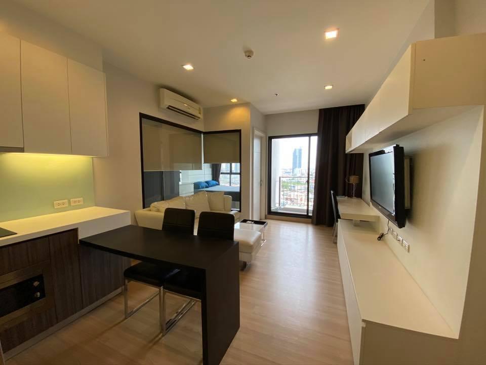 เช่าคอนโดวงเวียนใหญ่ เจริญนคร : ให้เช่า! For Rent Urbano absolute Sathorn* 1 นอน ห้องสวย แต่งครบ พร้อมอยู่ 16,000/Month!! เท่านั้น