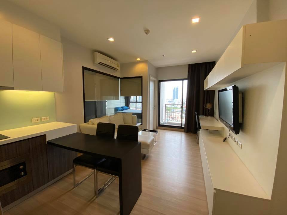 For RentCondoWongwianyai, Charoennakor : For rent! For Rent Urbano absolute Sathorn * 1 bedroom, beautiful room, fully furnished, ready to move in, 16,000 / Month !! only