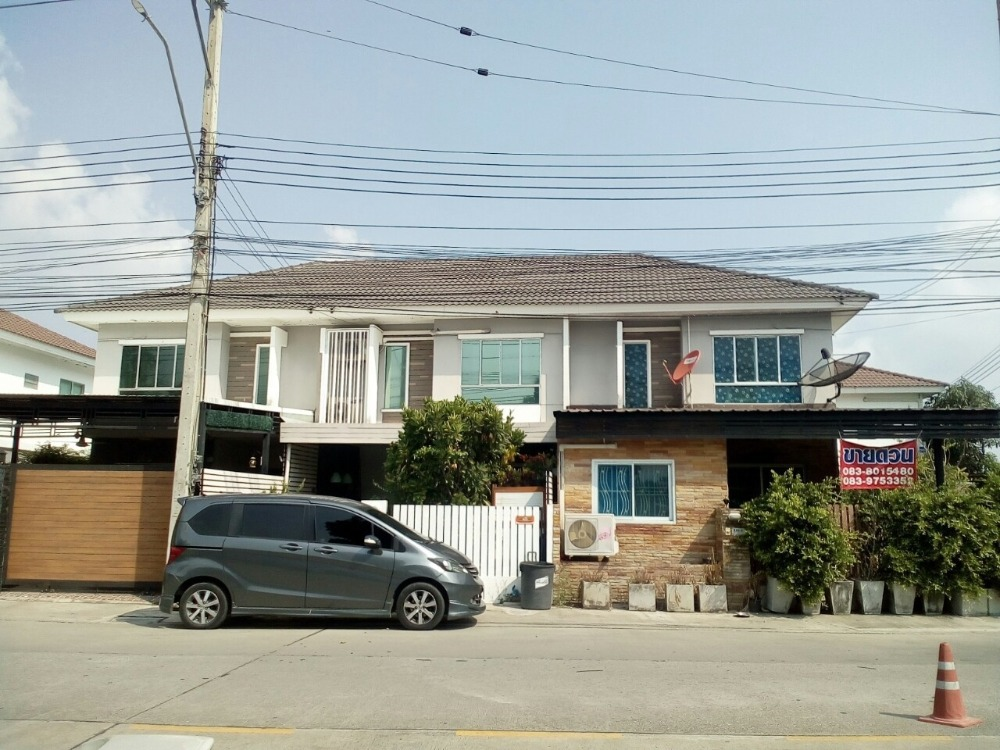 For SaleTownhouseNawamin, Ramindra : 2 storey townhouse for sale, very good price, Pruksa Ville Village 55, Soi Surao Khlong 1, Khannayao District, Bangkok