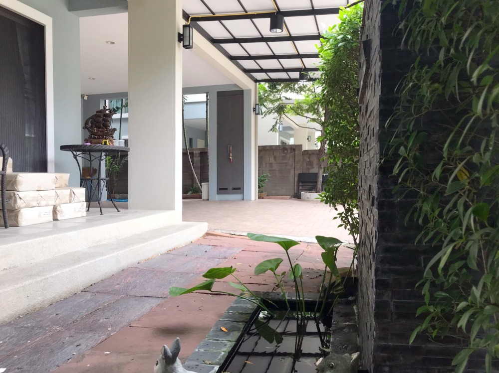 For SaleHousePattanakan, Srinakarin : H277-House for sale and rent, The Plant Estique Pattanakarn 38, 3 bedrooms, 3 bathrooms, 2 floors, area 50 sq.wa.