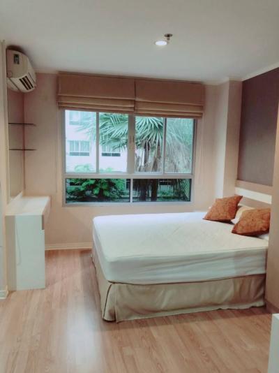 For RentCondoNawamin, Ramindra : 6592 For rent, Lumpini Ville Ramindra, Laksi, next to central garden view.