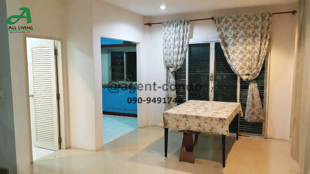 For SaleHouseRamkhamhaeng Nida, Seri Thai : Sell / rent 2-storey house, Thaweesuk village (Narisa), near Nida Serithai 29, beautiful house.
