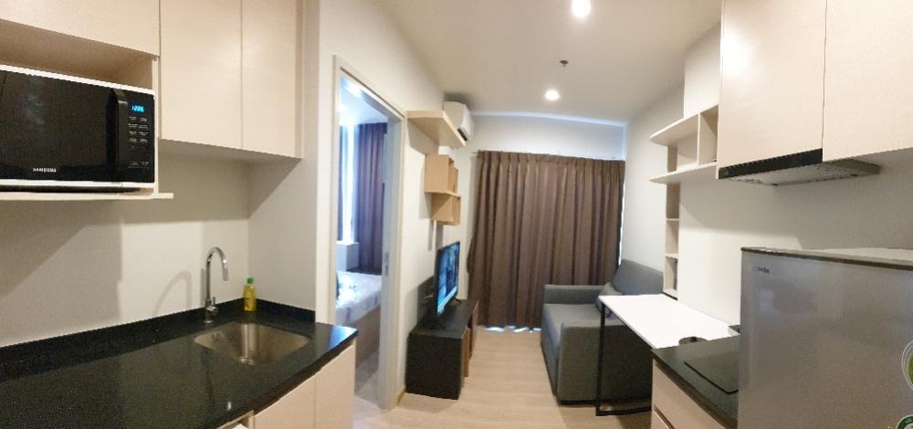 For RentCondoRatchadapisek, Huaikwang, Suttisan : Noble Revolve Ratchada 2 room on  33 fl close to  MRT