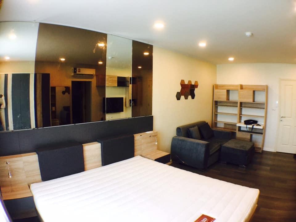 For RentCondoBangna, Lasalle, Bearing : For rent, D Condo Campus Resort Bangna, DCONDO CAMPUS RESORT BANGNA.