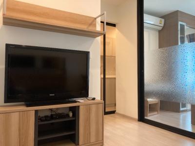 เช่าคอนโดพระราม 9 เพชรบุรีตัดใหม่ : ให้เช่า 1 ห้องนอน ชั้นสูง เฟอร์ครบ ราคาดี พร้อมเข้าอยู่