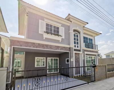 For RentHouseThaphra, Wutthakat : RH419 House for rent, 3 bedrooms, 3 bathrooms, Golden Neo Sathorn, Kanlapapruek Rd.