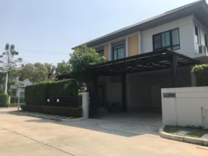 For SaleHouseNawamin, Ramindra : House for sale on the corner, next to Main Road, Life Bangkok Boulevard, Ramintra 65