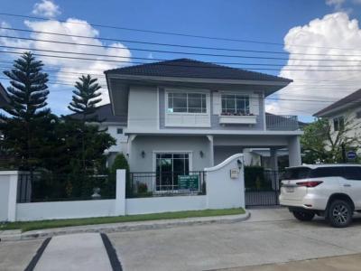 For RentHouseRamkhamhaeng,Min Buri, Romklao : **Single house for rent** Perfect Park Suvarnnabhumi on Rom Klao rd.