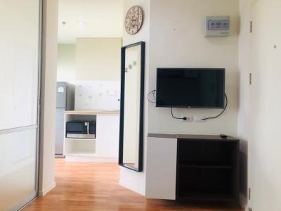 For SaleCondoKaset Nawamin,Ladplakao : Condo for sale Lumpini Park Nawamin Sri Burapha 23 sq m, 1 bedroom, 1 bathroom, beautiful room, good view