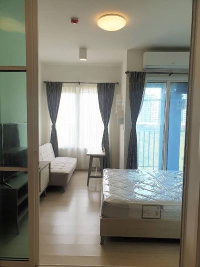 For SaleCondoRatchadapisek, Huaikwang, Suttisan : Urgent sale, Chapter One Condo Ratchada - Huay Kwang, new beautiful room, good view