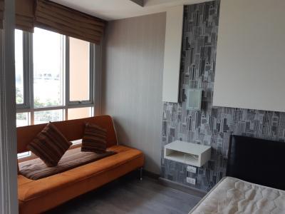 For RentCondoRamkhamhaeng, Hua Mak : Room For Rent 6800/Month only,The Inspire Place Abac-RamaIX @Abac University Huamark.