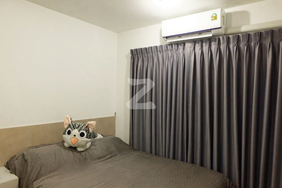 For SaleCondoLadkrabang, Suwannaphum Airport : Condo for sale V Condo Ladkrabang, fully furnished. Beautifully decorated, ready to move in !!