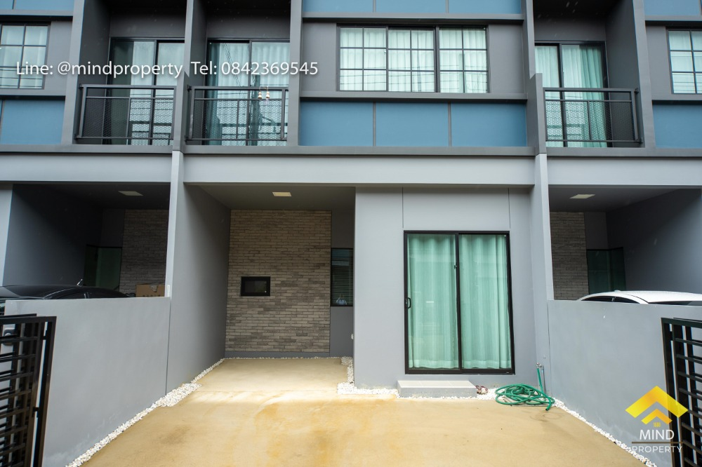 For SaleTownhouseRangsit, Patumtani : Urgent sale, 2-storey townhome, Siri Place Village, Rangsit, new house, ready in Pathum Thani