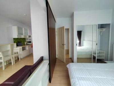 For RentCondoRama9, RCA, Petchaburi : Special discount! For rent, Condo A Space Asoke-Ratchada, Building B, size 35 sq m / 9,000 B.
