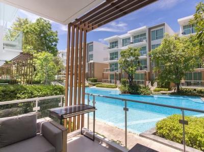 For SaleCondoCha am, Hua Hin : Luxury condo for sale, Pool Access room
