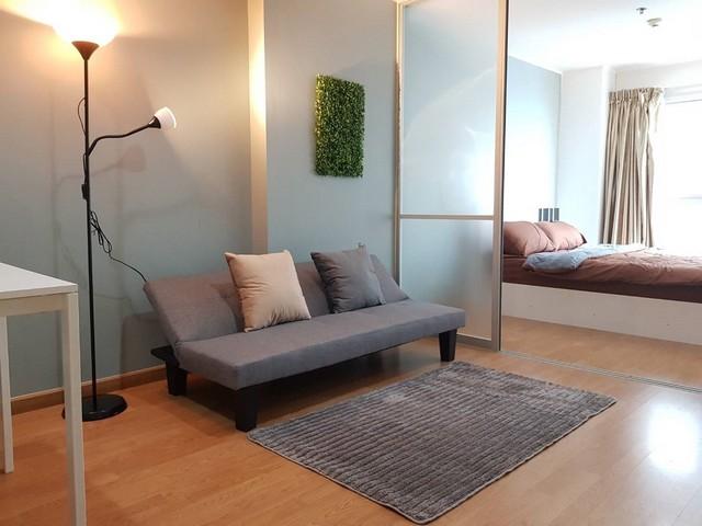 For RentCondoRatchadapisek, Huaikwang, Suttisan : AE0319 For rent, U Delight Huai Khwang, near MRT Huai Khwang, size 35 sqm, 4th floor, building A, ready to move in.