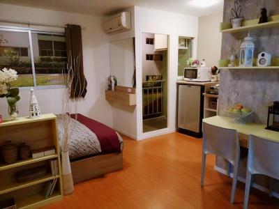 For RentCondoRangsit, Patumtani : Rent 5,000 THB Lumpini township Rungsit Klong 1 studio 22 Sqm.