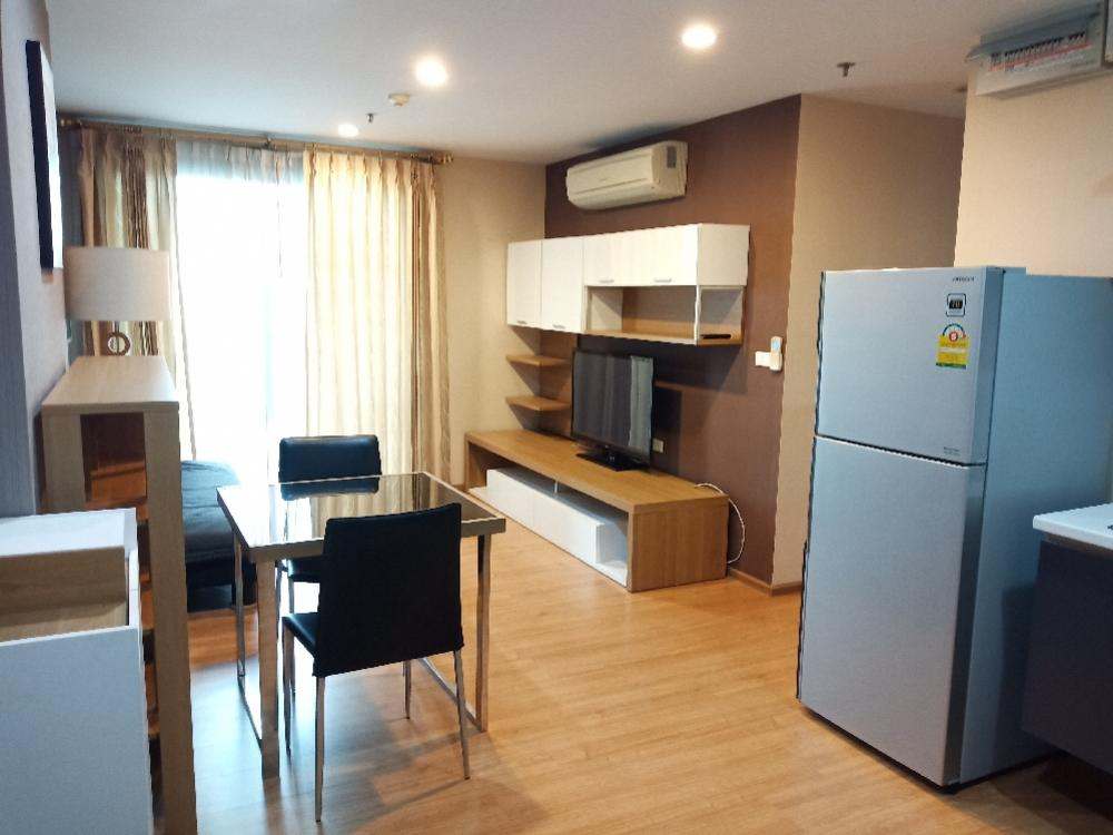 For RentCondoOnnut, Udomsuk : For rent The base 77 fully furnished🎉 large room Built-in beautiful decoration 🔥 COVID special price