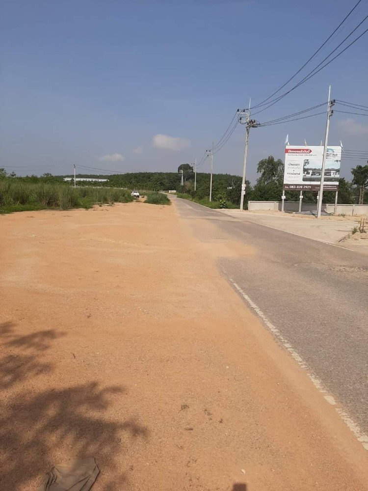 For SaleLandRayong : Ps160 Land for sale on beautiful road, Sq. 7000 ฿. Near many factories, very cheap.