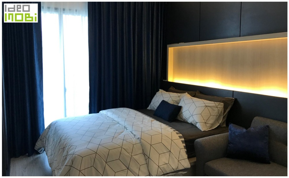 For SaleCondoBangna, Lasalle, Bearing : Sale🎉Ready to move in, Ideo Mobi Sukhumvit Eastgate: Studio Type, Size 22 Sq.M. 16th floor (City view), Only 2.759 MB. * BTS Bangna * BTS Bearing *