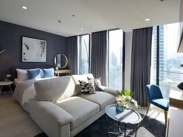 For RentCondoWitthayu,Ploenchit  ,Langsuan : Condo for rent  Noble Ploenchit  fully furnished (Confirm again when visit). Size 45 SQM.  1 bed1 bath.