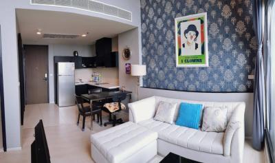 For RentCondoOnnut, Udomsuk : For Rent Duplex Unit At Rythm Sukhumvit 44 BTS Prakanhong call 0645414424