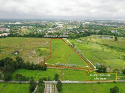 For SaleLandChonburi, Pattaya, Bangsa : Land for sale 16-2-22 rai, Map Pong, Phan Thong, Chonburi, near Amata Nakorn, can do land allocation projects for residence.