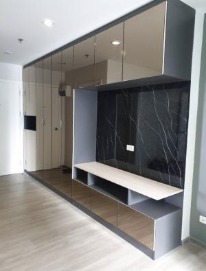 For RentCondoBang Sue, Wong Sawang : For rent 🏡 Combine room 56sqm.# Condo Regent Bang Son 28 1 bedroom 2 bath Building C 20th floor large room in the corner of 56 sqm.