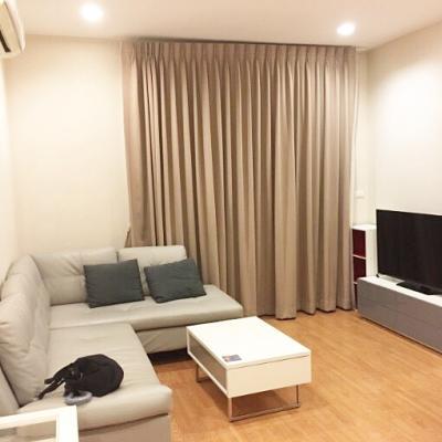 For RentCondoOnnut, Udomsuk : Condo for rent Q House Condo Sukhumvit 79 near BTS On Nut 60 sqm. 2 bedrooms