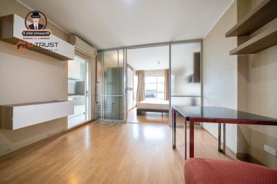 For RentCondoRatchadapisek, Huaikwang, Suttisan : Condo for rent, U Delight @ Huaykwang, 6th floor, Building A, with furniture.