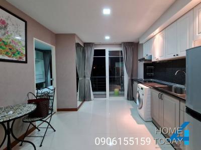 For RentCondoLadkrabang, Suwannaphum Airport : Urgent rent, Airlink Residence Condo, 3rd floor, beautiful room, wide, cool breeze