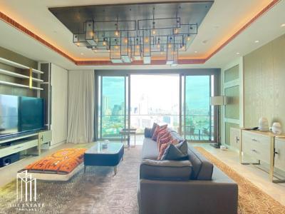 เช่าคอนโดวงเวียนใหญ่ เจริญนคร : Condo for RENT *The Residences At Mandarin Oriental Bangkok ห้องชั้นสูง 20+ ห้องมุม ทิศใต้ โครงการระดับ World Class @350,000 Baht