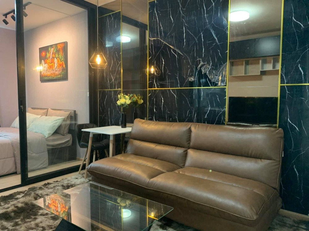 For RentCondoPinklao, Charansanitwong : Unio Charan 3 8,500 / month room decorated in luxury style