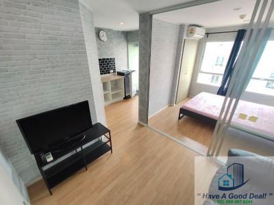 For RentCondoOnnut, Udomsuk : Room 24 sq m, Condo Lumpini Ville On Nut 46