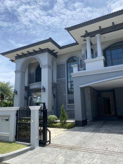 For SaleHousePhutthamonthon, Salaya : Corner house for sale The Grand Pinklao 154.1 square meters