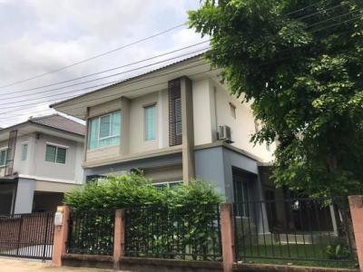 For RentHouseRamkhamhaeng,Min Buri, Romklao : RH424 single house for rent, The Plant SIMPLY Ramkhamhaeng 118, near Ascot International School