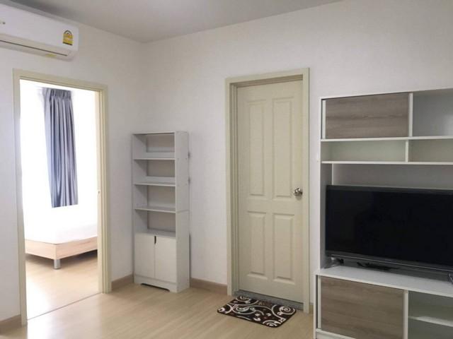 For RentCondoRama9, RCA, Petchaburi : AE0337 Condo for rent, Supalai Veranda Rama 9, area 38.52 sqm, 1 bedroom, 28th floor, Building B