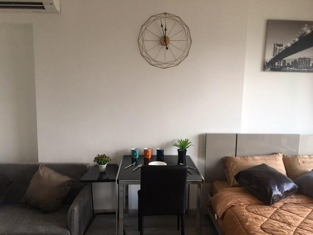For RentCondoRama9, RCA, Petchaburi : AE0333 For rent, Ideo Mobi Asoke, near MRT Phetchaburi, Studio room size 25 sq m, 20th floor, SWU view.