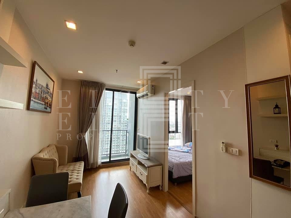 For RentCondoOnnut, Udomsuk : For Rent Q House Sukhumvit 79 (30 sqm.)