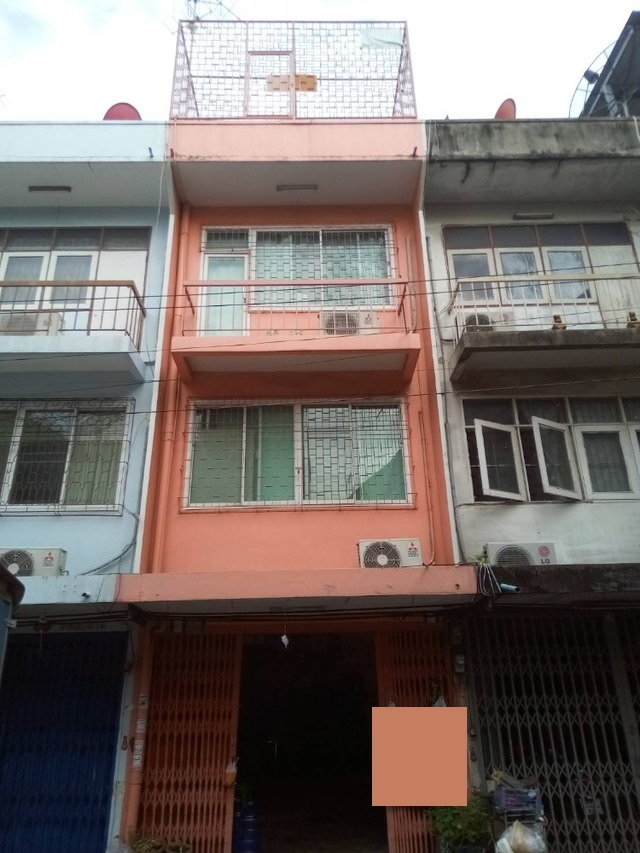 For SaleShophouseSathorn, Narathiwat : BS508 3-storey commercial building for sale, Soi Chan 43, with bottled drinking water production Continue business immediately