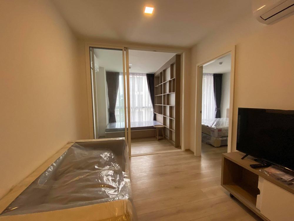 เช่าคอนโดอ่อนนุช อุดมสุข : ห้องใหม่ ถูก ประหยัด Chambers On-nut 👉 35 sq.m เช่า 16,000 ฿ ราคาต่อรองได้คะ