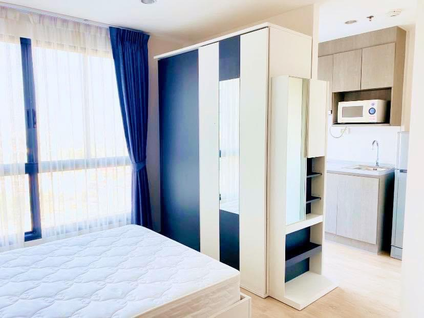 For SaleCondoThaphra, Wutthakat : Condo for sale Ideo Sathorn - Thaphra fully furnished. Size 21 SQM.  studio room1 bath.