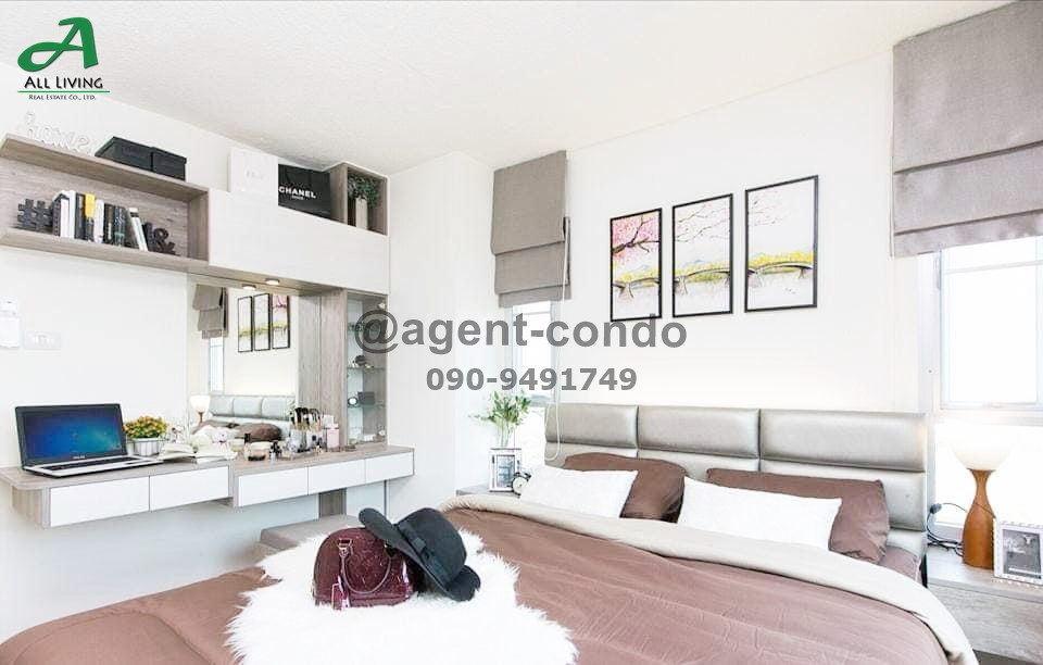 For RentCondoLadkrabang, Suwannaphum Airport : Condo for rent Lumpini Ville On Nut - Ladkrabang 2 beautiful room ready to move in * There are many rooms *