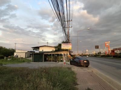 เช่าที่ดินนครปฐม พุทธมณฑล ศาลายา : ให้เช่าที่ดิน 1 ไร่ 3 งานกว่า ติดถนนหลัก (ถนนเพชรเกษม) ด้านหลังติดคลอง อ.นครชัยศรี นครปฐม