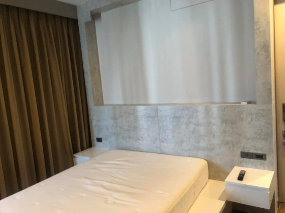 For RentCondoSilom, Saladaeng, Bangrak : 1 bedroom for rent M Silom, beautiful room, furniture, appliances complete