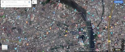 For SaleLandWongwianyai, Charoennakor : Land for sale 195 square meters Lat Ya Road - Wongwian Yai ** Ref.A01200401 **